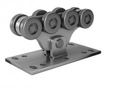 Опора  роликовая  (стальные ролики) SGN.02.150